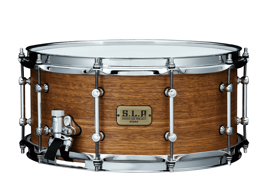 """Tama S.L.P. Bold Spotted Gum 14""""x 6.5"""" Snare Drum (LSG1465-SNG)"""