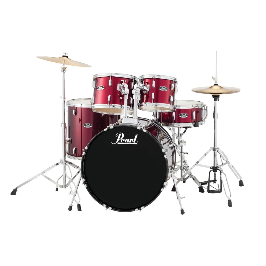 "Pearl Roadshow 22"" 5 piece Drum Kit with cymbals"