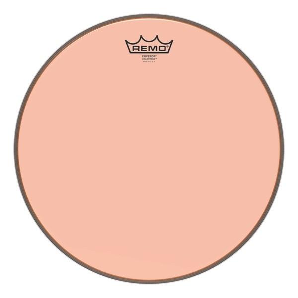 Remo Emperor Colortone Orange Drum Heads