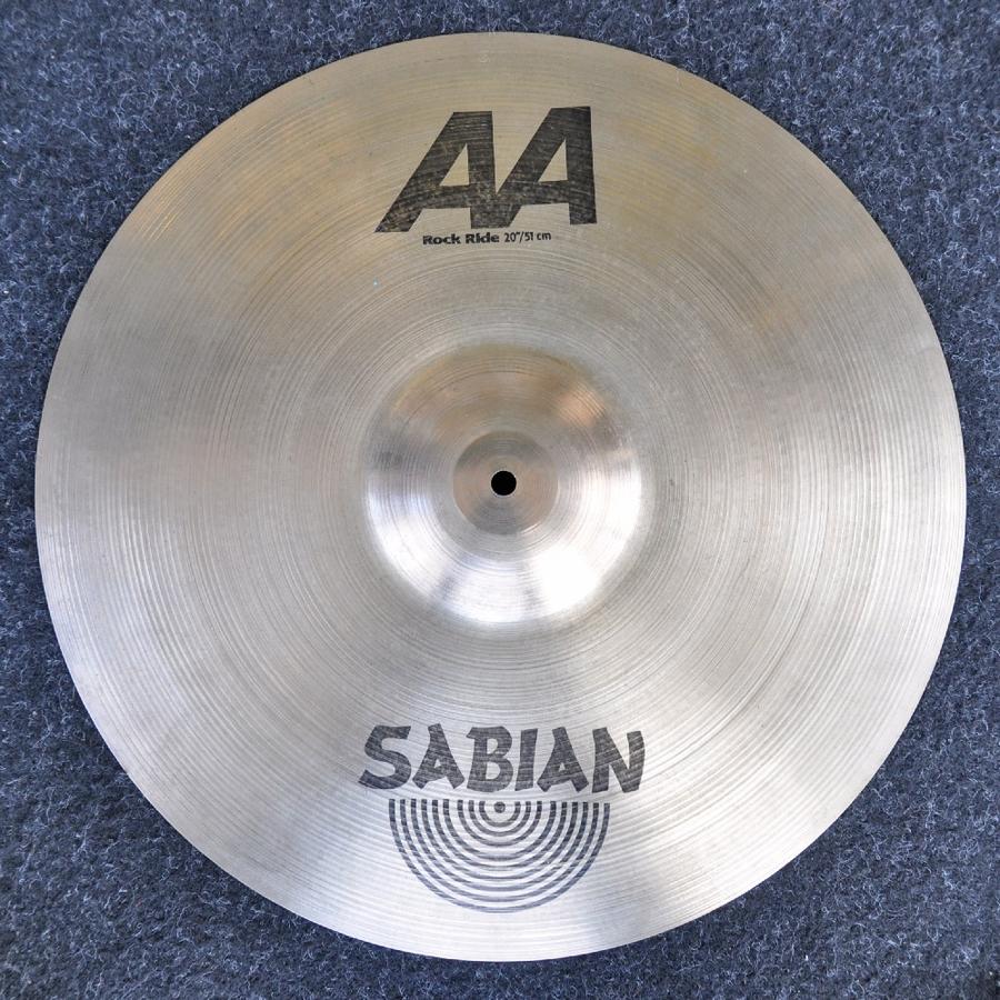 "Sabian 20"" AA Rock Ride *2nd Hand*"