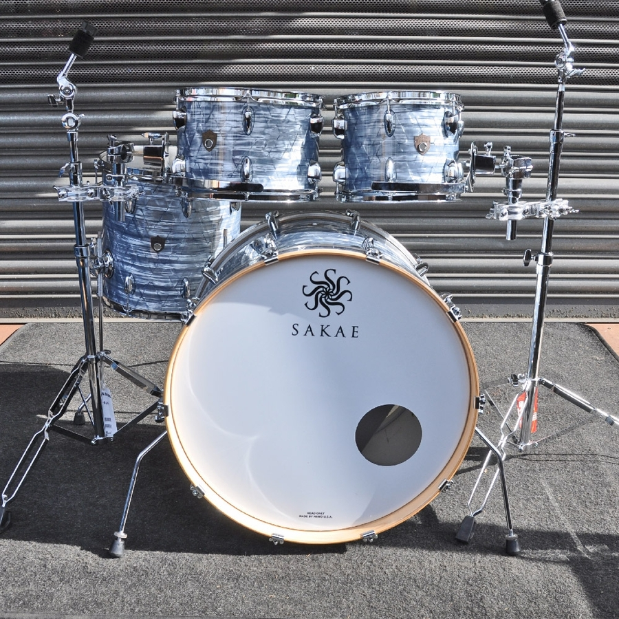 "Sakae 10"", 12"", 14"", 22"" Trilogy Shell Pack in Sky Blue Pearl *2nd Hand*"