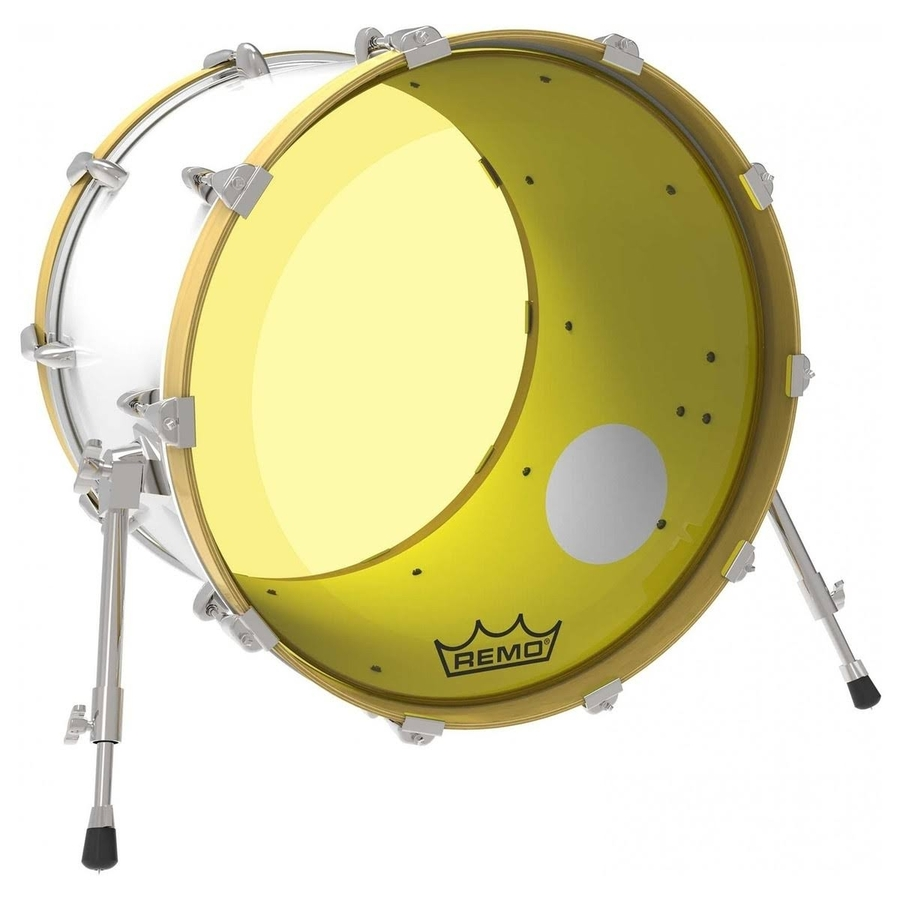Yellow Drum Heads : remo p3 resonant colortone yellow bass drum heads ported drumshack ~ Russianpoet.info Haus und Dekorationen