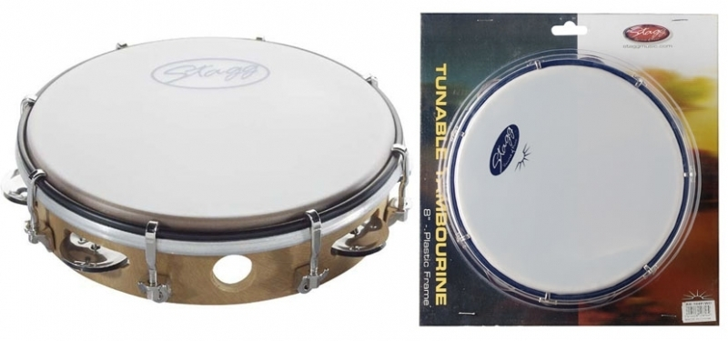 Stagg Tunable Tambourines