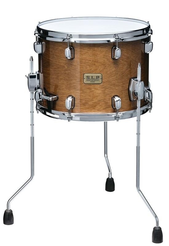 "Tama S.L.P. 14""x 10"" Duo Snare drum - Transparent Mocha (LBH1410L-TPM)"