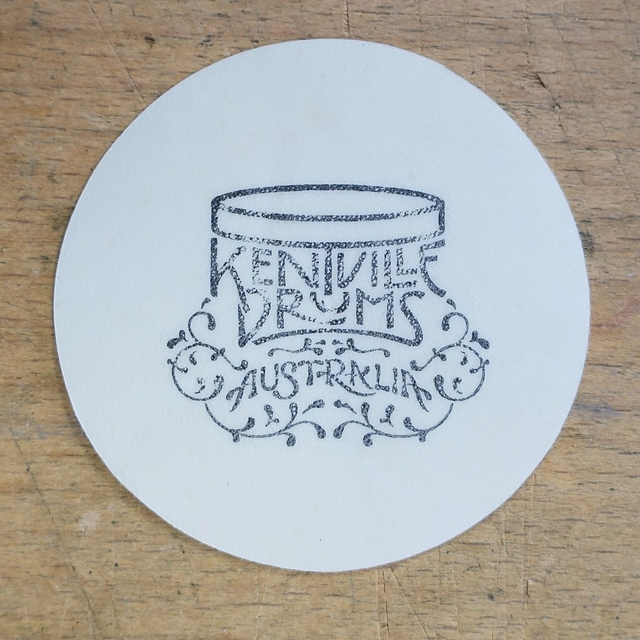 Kentville Drums Kangaroo Hide Bass Drum Patch / Strike Patch