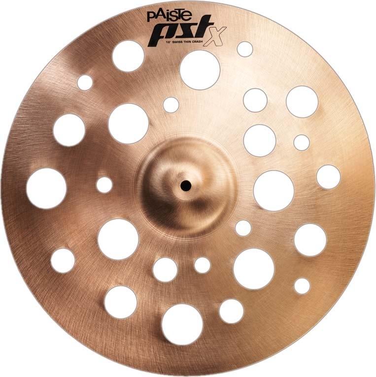 Paiste PSTX Swiss Thin Crash Cymbals