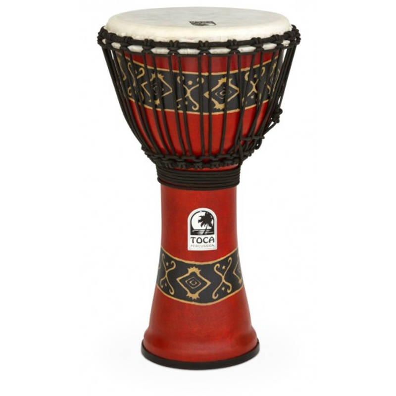 Toca Synergy Freestyle Djembe in Bali Red