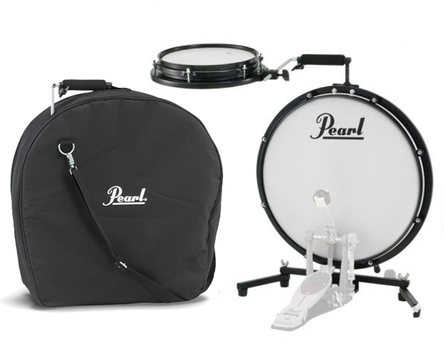Pearl - Compact Traveler Kit PCTK-1810 with Case - Bundle