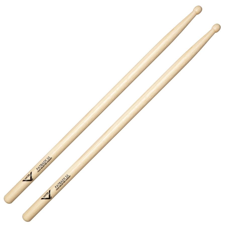 Vater VH3AW Fatback 3A Wood Tip Drum Sticks