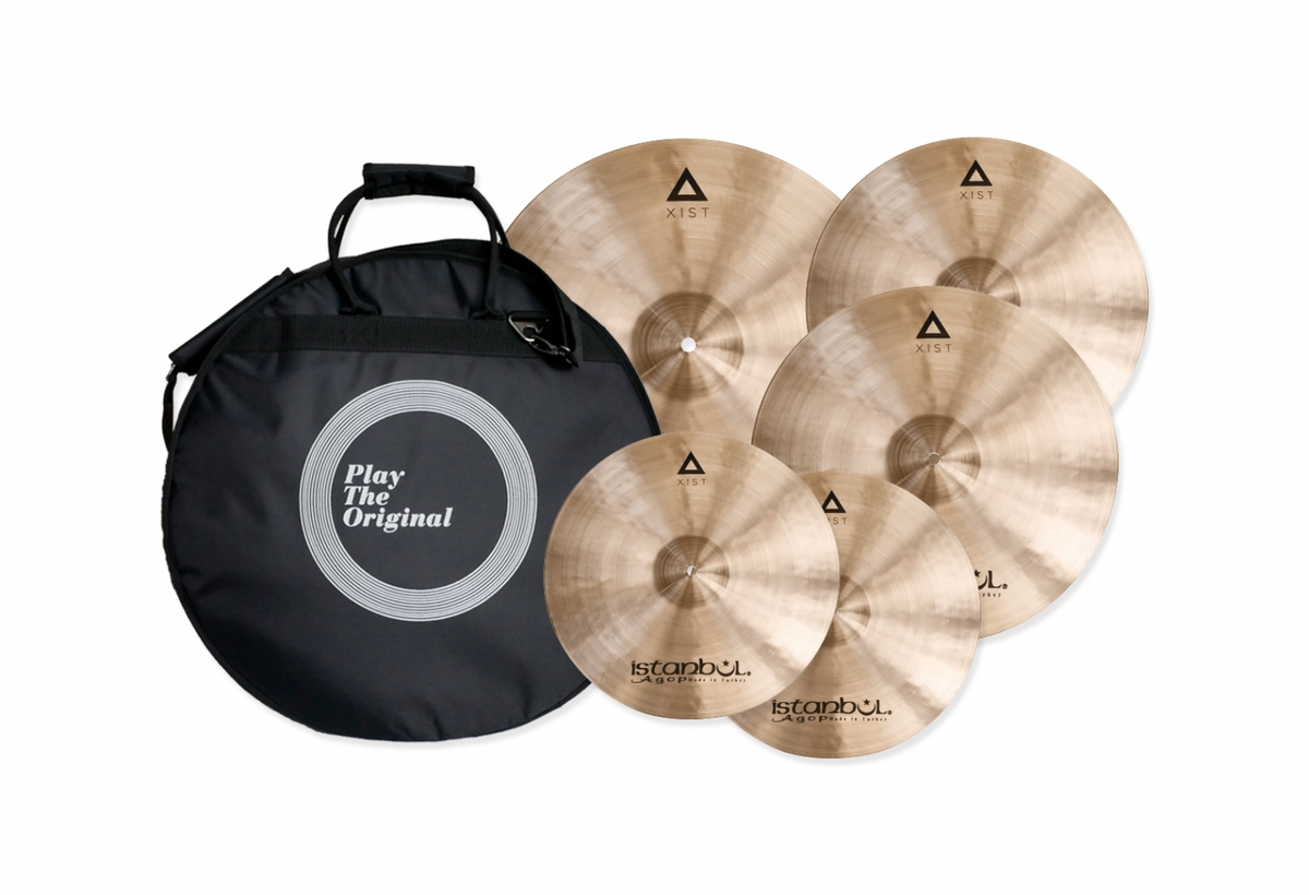 Istanbul Xist Traditional Cymbal Set with FREE 18 inch Crash Cymbal and Cymbal Bag