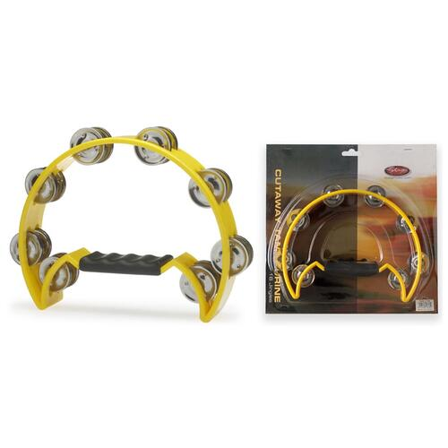 Stagg Double Row Tambourines with 20 jingles