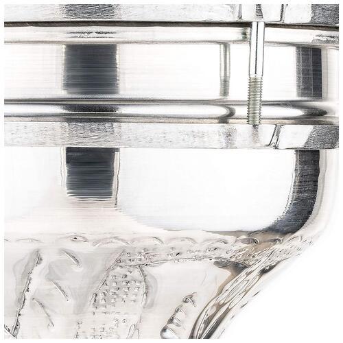 """Image 2 - Meinl Aluminium Hand Hammered 7 1/4"""" x 13 1/3"""" Darbuka (HE-113)"""
