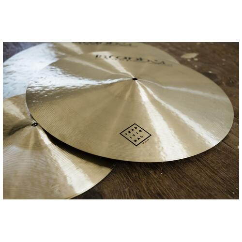 """Image 1 - Istanbul Agop 22"""" Traditional Jazz Ride"""