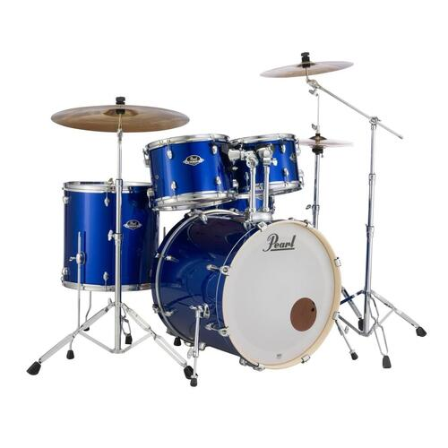Image 1 - Pearl EXX Export Rock Drum Kit with Sabian Cymbals +STICKS AND THRONE