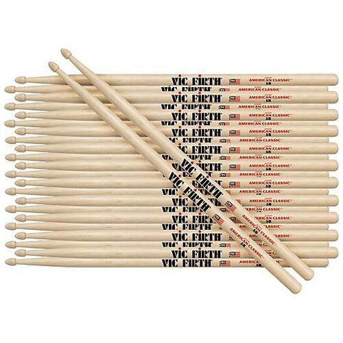 Vic Firth American Classic 5A wood - Brick (12 pairs)