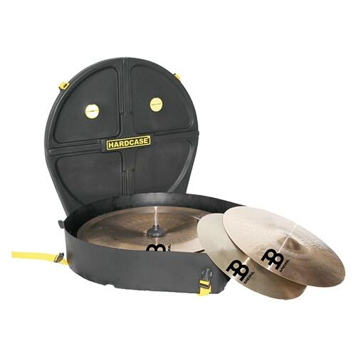 Image 1 - Hardcase 24in Kit Cymbal Case With Wheels (12 Cymbals)