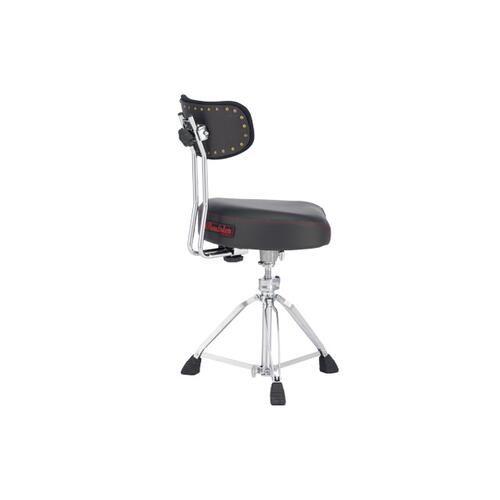 Image 5 - Pearl D3500BR Roadster Multi-Core Saddle Drum Throne w/Back Rest