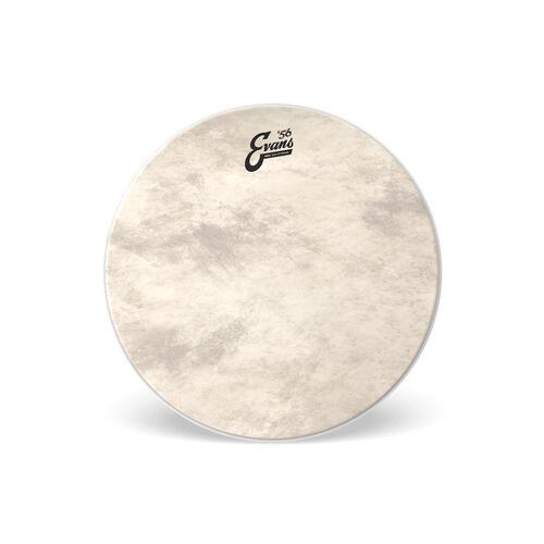 Image 1 - Evans 56 Calftone EQ4 Bass Drum Heads