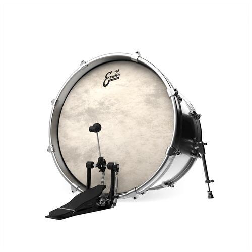Image 2 - Evans 56 Calftone EQ4 Bass Drum Heads
