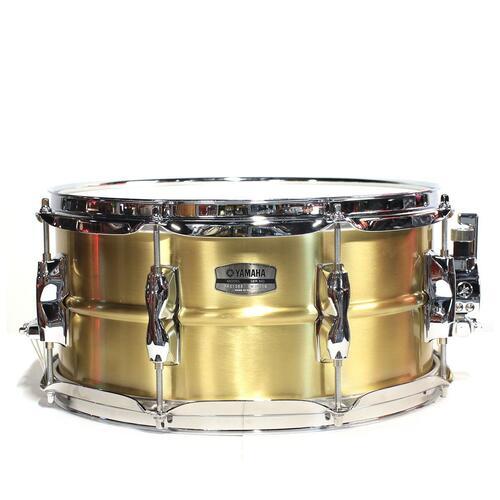 "Yamaha Recording Custom 13"" x 6.5"" Brass Snare Drum - RRS1365"