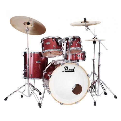 Image 7 - Pearl EXX Export BUNDLE - American Fusion Drum Kit Bundle offer with Sabian SBR Cymbal and Stool Upgrade
