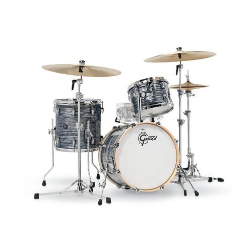 """Image 2 - Gretsch 18"""" Renown Maple 3pc Shell Pack in Silver Oyster Pearl"""