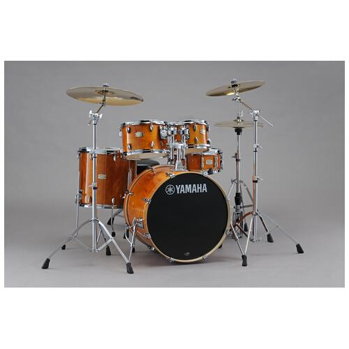 Yamaha Stage Custom Birch 20'' 5 Piece Shell Pack, Honey Amber
