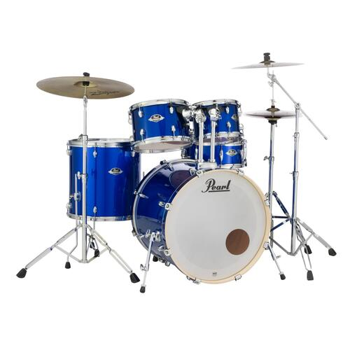 Image 3 - Pearl EXX Export American Fusion Drum Kit in Black with Sabian Cymbals