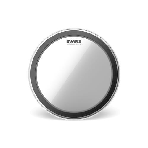 """Evans EMAD 22"""" Bass Drum Heads - Clear"""