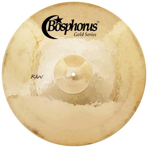 Bosphorus 20 inch Gold Raw Series Crash Cymbal
