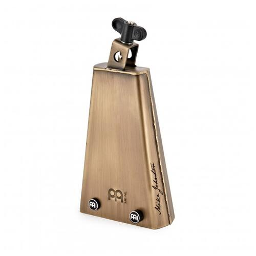 """Image 3 - Meinl Mike Johnston Groove Bell, 7 3/4"""" Cowbell, Special Steel Alloy"""