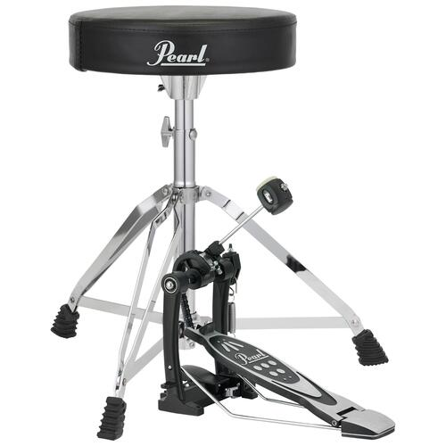Image 1 - Pearl P-530 pedal & D-50 Drum Throne Pack