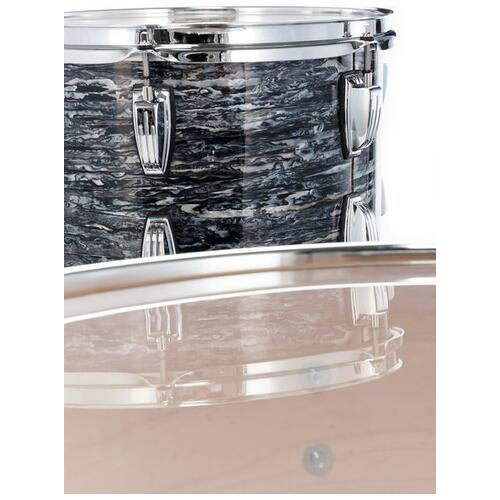 Image 8 - Ludwig Fab22 Classic Maple Shell Kit in Vintage Black Oyster Pearl