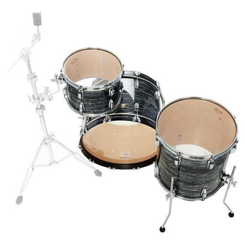 Image 10 - Ludwig Fab22 Classic Maple Shell Kit in Vintage Black Oyster Pearl