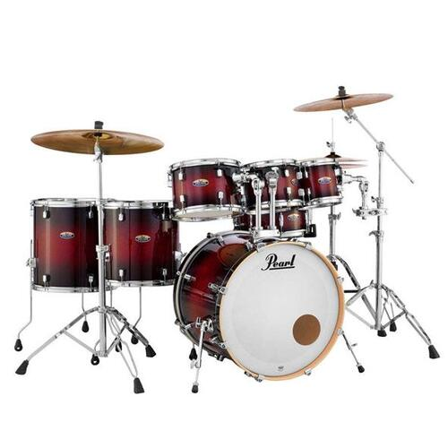 """Pearl Decade Maple 7 Piece Shell Pack With hardware 22"""" Bass Drum"""