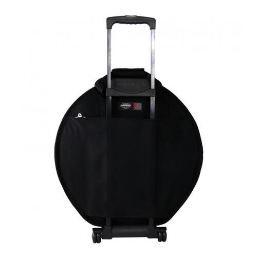 Image 3 - Ahead Armor AA6024W Deluxe Cymbal Case with Wheels