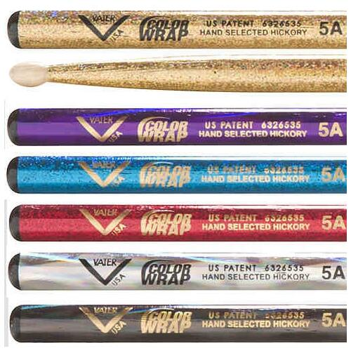 Image 2 - Vater Colour Wrap Drumsticks
