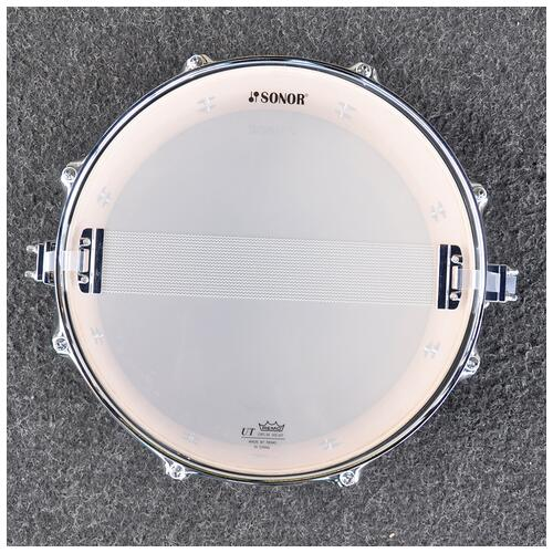 """Image 5 - Sonor 13"""" x 6"""" AQ2 Snare Drum in Brown Fade finish *Special*"""
