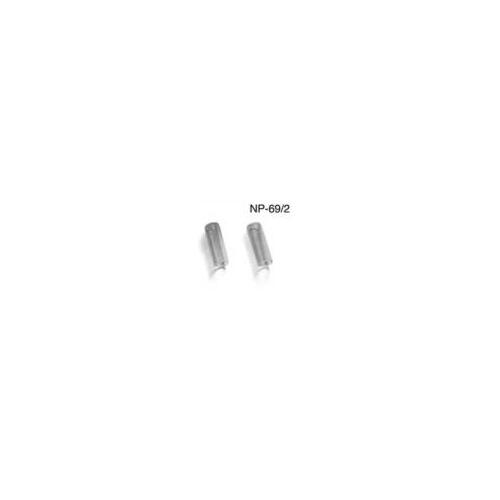 Pearl plastic cymbal sleeves (2pc)