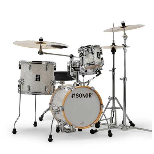 Sonor AQ2 Martini Shell Pack in White Pearl