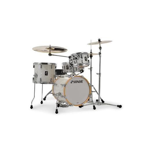 """Image 1 - SONOR AQ2 BOP SET 4-PIECE 18"""" SHELL in White Pearl"""