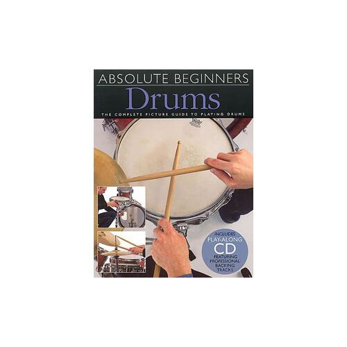 Absolute Beginners Drums - Book 1