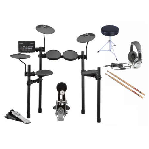 Yamaha DTX452 Electronic Drum Kit - with bundle