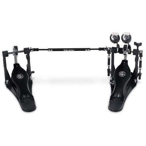 Gibralter 9811SGD-DB Stealth G Drive Double Pedal, Chain Drive