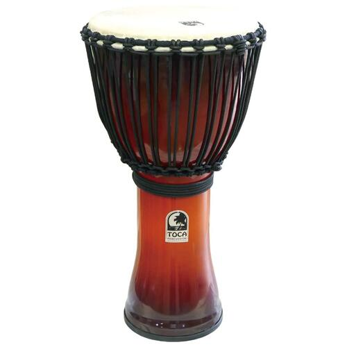 Toca Synergy Freestyle Djembe in African Sunset