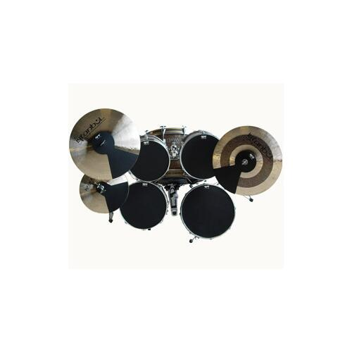 QT Drum Silencer Pads for Drumkit Boxed Set - mufflers