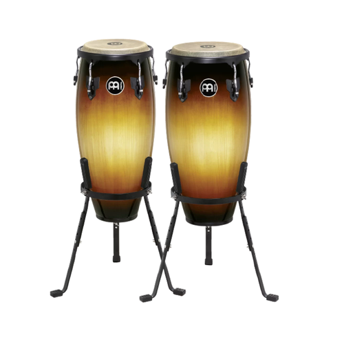 """Image 2 - Meinl Headliner Congas 10"""" & 11"""" with Basket Stands"""