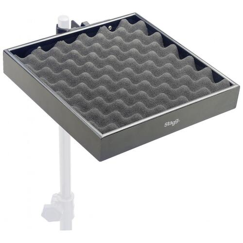 Stagg PCTR-3030 Black Percussion Tray