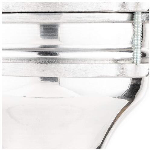 """Image 2 - Meinl Aluminium Plain 5 1/3"""" x 9 1/4"""" Darbuka - HE100"""