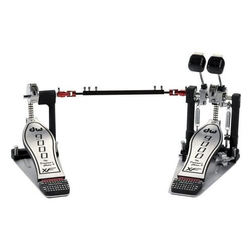 DW 9000 Series Double Bass Drum Pedal - Extended Foot-Board
